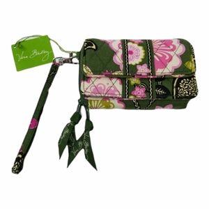 Vera Bradley Zipper Wallet Wristlet Olivia Pink
